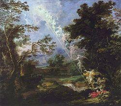 Το όνειρο του Ιακώβ με τη σκάλα των αγγέλων